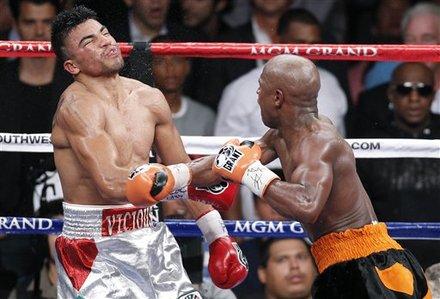 Ortiz knockdown